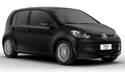 VW Up Move 2016 frente lateral negro