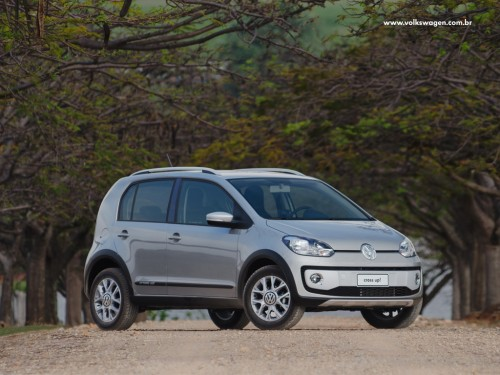 VW Up frente lateral