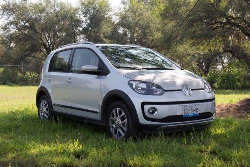 VW Up prueba frente lateral portada