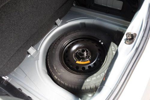 VW Up prueba maletero 4