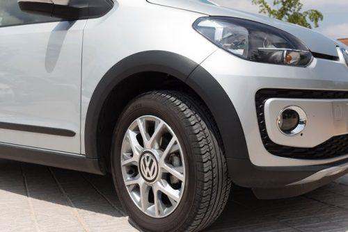 VW Up prueba rin