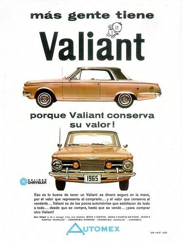 Valiant Acapulco anuncio