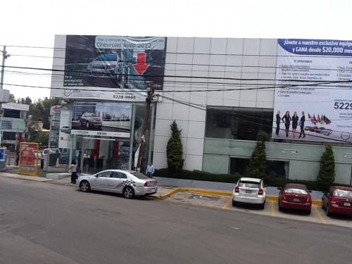 Ventas agencia Chevrolet