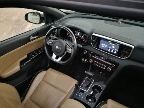 KIA Sportage 2019 interior general