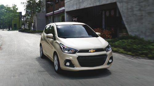 La versión básica de este popular vehículo volvió a ser sorprendida.(Foto cortesía Chevrolet)