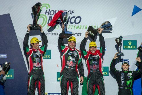 El equipo mexicano RGR, encabezado por Ricardo González conquistaron la categoría LMP2.