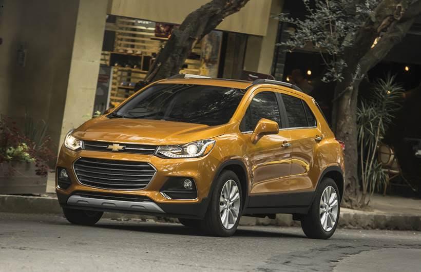 Chevrolet Trax 2017 Estrena Rostro Y Conserva El Motor 18l