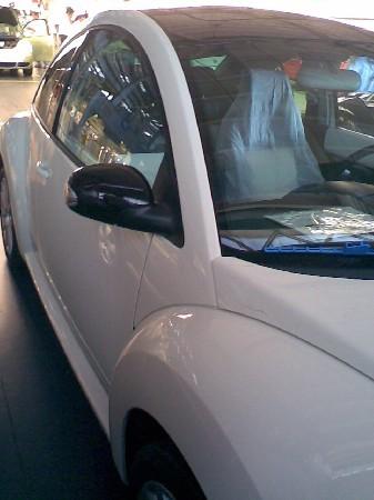 VW Beetle décimo aniversario frente
