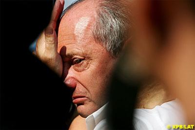 Ron Denis en Monza